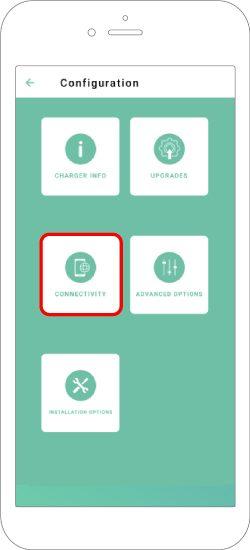 settings menu connectivity